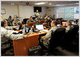 Command Center for Military EOC